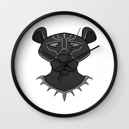 Old Panther Hero Wall Clock
