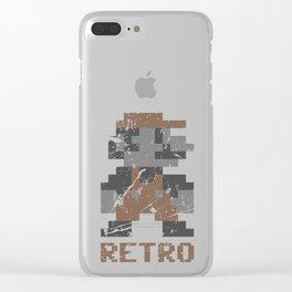 Mario Retro Clear iPhone Case