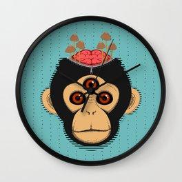 3rd Eye Chimp & Psychedelic Mushrooms Wall Clock