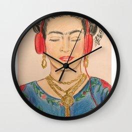 The Modernization of Frida Wall Clock
