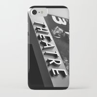 theatre iPhone & iPod Cases featuring Theatre Sign by Griffin Lauerman