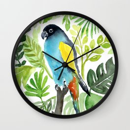 A Day at the Conservatory Wall Clock