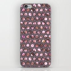 Pink Shiny Pearl Pattern iPhone Skin