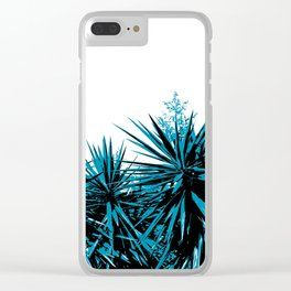 Yucca Trees Clear iPhone Case