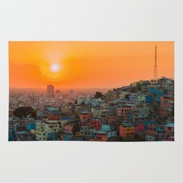 City Sunset Guayaquil Rug