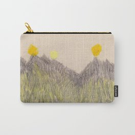 Mountains and 5 Suns Carry-All Pouch