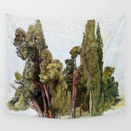Samuel Palmer Cypresses in Tivoli Wall Tapestry