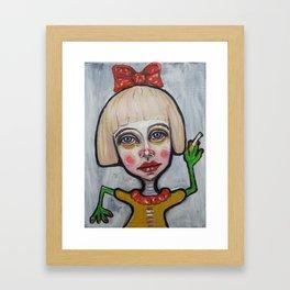 420 Framed Art Print
