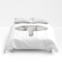 Watercolor Elephant Comforters