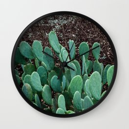 Layers of Green Wall Clock