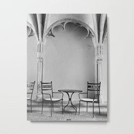 A Place For Coffee Metal Print