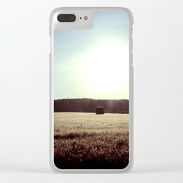 Staring Into the Sun Clear iPhone Case