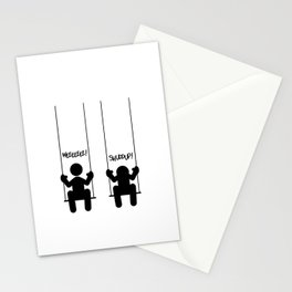 Mood Swings Stationery Cards