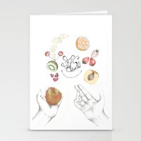 cooking Stationery Cards featuring Happy Cooking by Ana Mendes