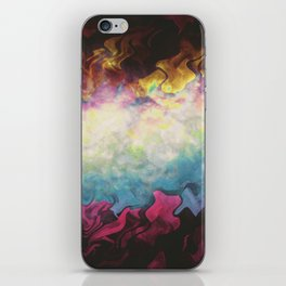 Let's Never Grow Up (PC Vapors III) iPhone Skin