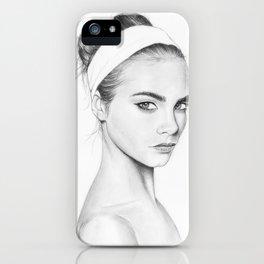 Cara Delevigne iPhone Case