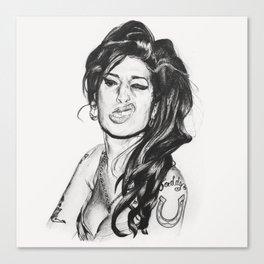 Amy Amy Amy Canvas Print