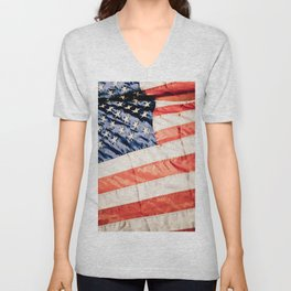 America the Beautiful Unisex V-Neck