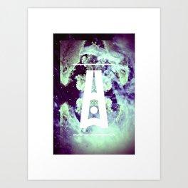 AURORA BOREALIS#02 Art Print