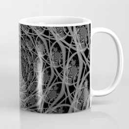 Galaxy of Filaments in Black and White Coffee Mug