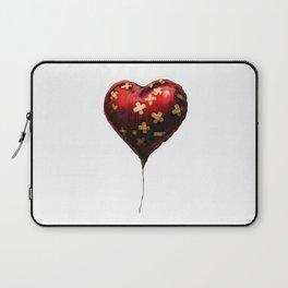 Band-Aid Heart Balloon Laptop Sleeve