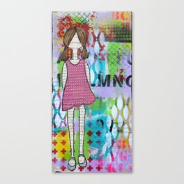 Playful in Pink Canvas Print