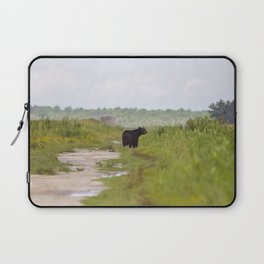 Adult Black Bear Laptop Sleeve