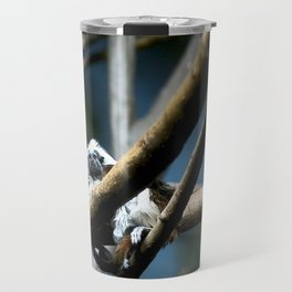 Cottontip Tamarin in Colour Travel Mug