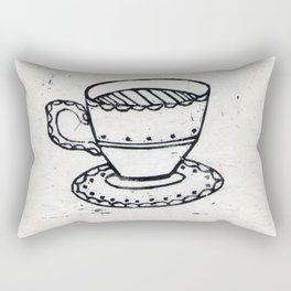 Lovely Cuppa Rectangular Pillow