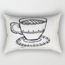 Lovely Cuppa Rectangular Pillow