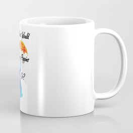 What Would Mary Poppins Do? - colorful watercolor splatter Coffee Mug