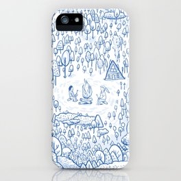 """""""Can You Spot Spirit"""" Woods Theme iPhone Case"""