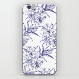 Lilium Speciosum (white) iPhone Skin