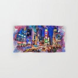 New York Panorama Hand & Bath Towel