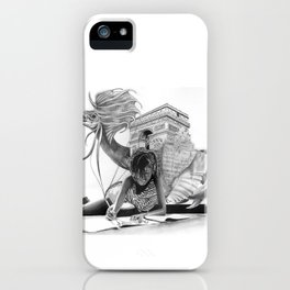 HOW IT BEGINS (featuring the photography of Harvey Lisse w/his daughter Chontelle) iPhone Case