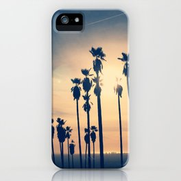 Griffith Park Palm Trees, Los Angeles iPhone Case