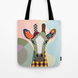 Stand Tall Giraffe Tote Bag
