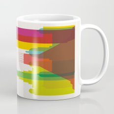 Shapes of Liverpool. Accurate to scale. Mug