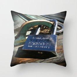 Siempre- Love Lock Throw Pillow