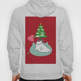 New account cat Christmas tree by prosperousvs 480 Hoody