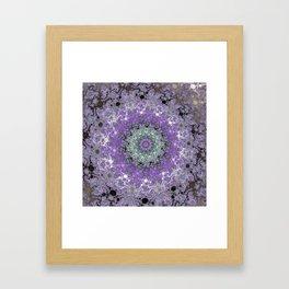 Fractal Wreath Framed Art Print