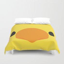 Yellow Chocobo Block Duvet Cover