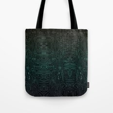 Circuitry Details Tote Bag