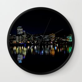Wellington City Scape Wall Clock