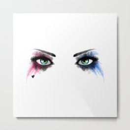 Look of Madness Metal Print