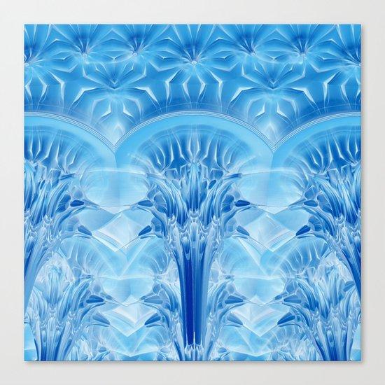 Ice Palace Canvas Print
