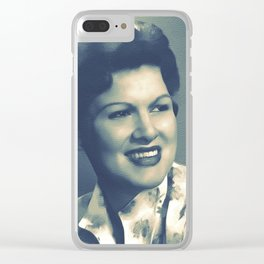 Patsy Cline, Music Legend Clear iPhone Case