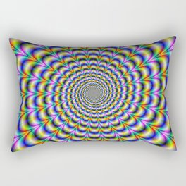 Psychedelic Swirl Rectangular Pillow