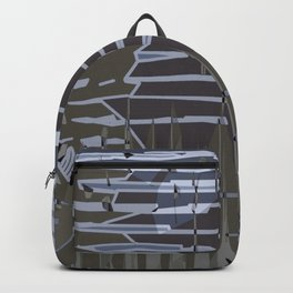 Jagged. Backpack