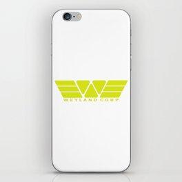 Weyland Corp - Yellow iPhone Skin